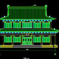 22.5X15.6大雄宝殿设计图纸(含斗拱配筋)
