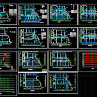 某宾馆改造装修电气图