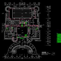 四层民用综合楼装修电气施工图纸