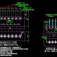 等电位箱设计原理CAD图