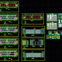 某技术学院5层教学楼施工图