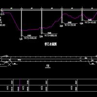 40米跨T型梁桥课程设计图纸