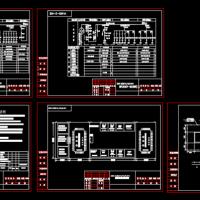 630KVA箱变一次系统图及地基图