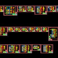 某厂区建筑石材幕墙干挂节点图