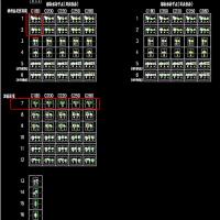 钢结构屋面檩条节点设计CAD图