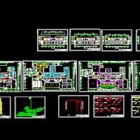 某高层办公楼给排水毕业设计CAD图纸
