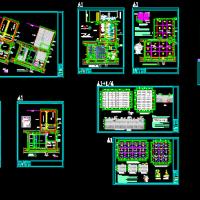 真空预压法加固软土地基施工CAD图纸(含说明)