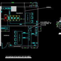 消防控制室与网络信息机房平面布置图