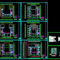某综合楼布线电气cad施工图