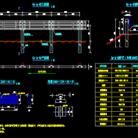 二级公路A级波形梁护栏最新设计图