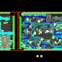 昆山某住宅小区地下车库建筑结构图纸