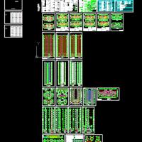 银川带连廊34层高层住宅建筑结构全套图(寒冷地区CFG桩)