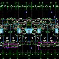 江苏碧桂园16层商住建结水电暖全套带连廊(含绿建节能)2016