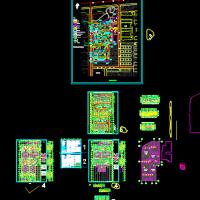 9983平米地下车库建筑设计施工图纸(含说明)