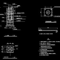 路灯基础及安装图(9-12米)