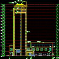 河南新中式风格18层住宅楼建筑结构地库图(2018带商业网点)