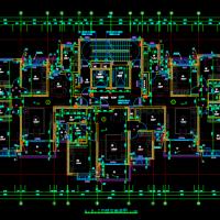 恒大32层高层住宅楼平立剖面图