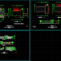 某地单层会所建筑设计方案图纸