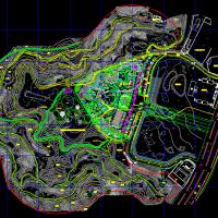 某地水上乐园规划设计总平图