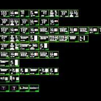 污水处理厂电气控制二次原理图全套(60张)
