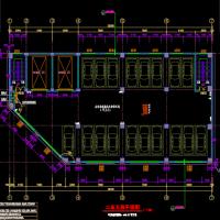某地机械立体停车库建筑设计施工图