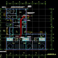沈阳两层6班幼儿园电气设计图纸(L形)