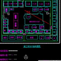 某地施工现场总平面布置图CAD图块