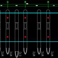 高速公路收费站网架建筑及结构设计图纸