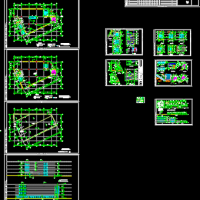 南昌凤凰城二期商业街四层商业楼建筑设计图