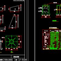 F型悬臂式交通标志通用设计图