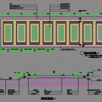 景观工程停车场及车行道施工图设计