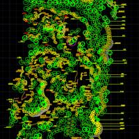 北京某公园绿化种植设计图
