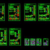 铝合金门窗节点CAD图
