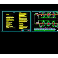 龙门吊基础设计CAD图