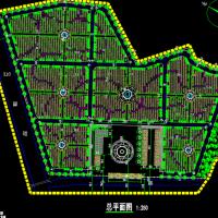 某公墓规划设计CAD施工图纸