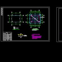 40T钢结构水塔及基础设计图