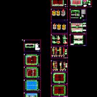 某地干煤棚建筑及结构设计施工图纸