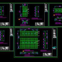 不锈钢防盗网CAD设计图