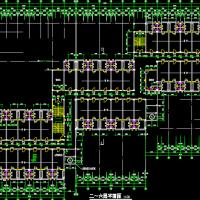 某六层框架结构大学宿舍楼建筑图