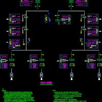 某广电媒体中心电力系统设计图纸
