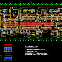 地下车库标志标识设计CAD图纸