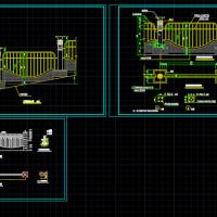 围墙镂空栏杆设计图