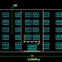 五层框架结构教学楼毕业设计图纸及计算书(4426平米)