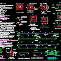 27层框架结构办公楼结构图(空心楼盖 预应力管桩)