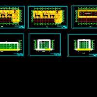 三层框架结构幼儿园建筑及结构毕业设计图(2315平米)