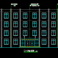 四层框架结构教学楼毕业设计全套图(2726平米 结构规整)
