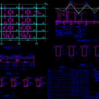 钢筋混凝土现浇单向板肋梁楼盖课程设计图(含计算书)