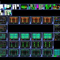 中国移动数据中心机房电气设计图纸