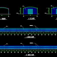 钢结构温室蔬菜大棚结构设计施工图纸