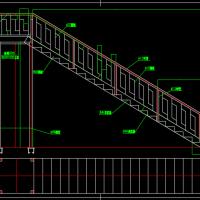 简单的钢楼梯设计